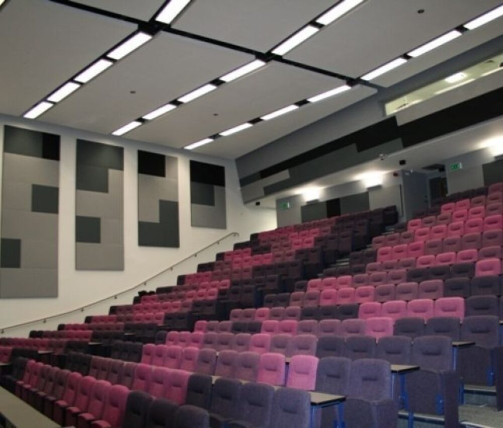 FTS UK Acoustic panels theater